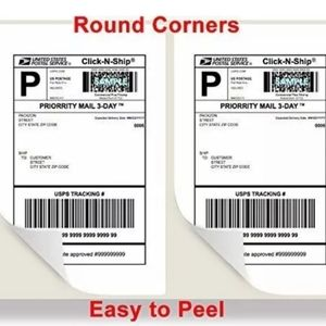 Other - ADHESIVE SHIPPING LABELS 100